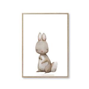 Børneplakater kanin