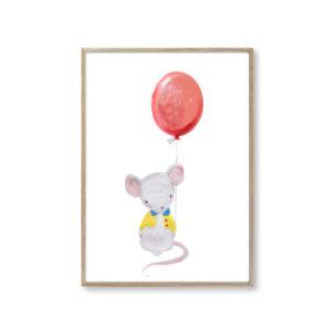 Børneplakater mus