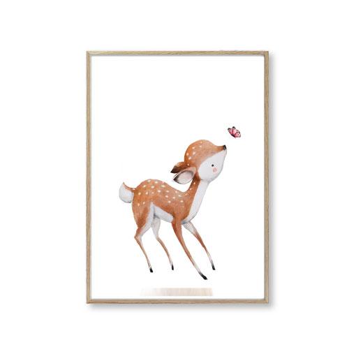 Børneplakater bambi
