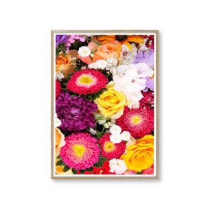 Smukke plakater blomster billige
