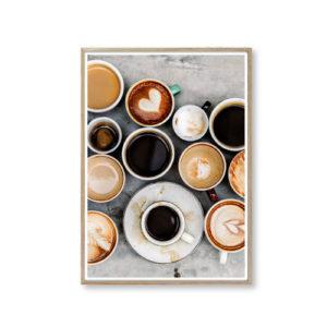 Plakat af kaffe plakater design