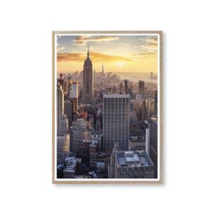 Plakater med New York flot