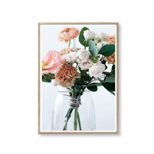 Billeder til væggen blomster buket