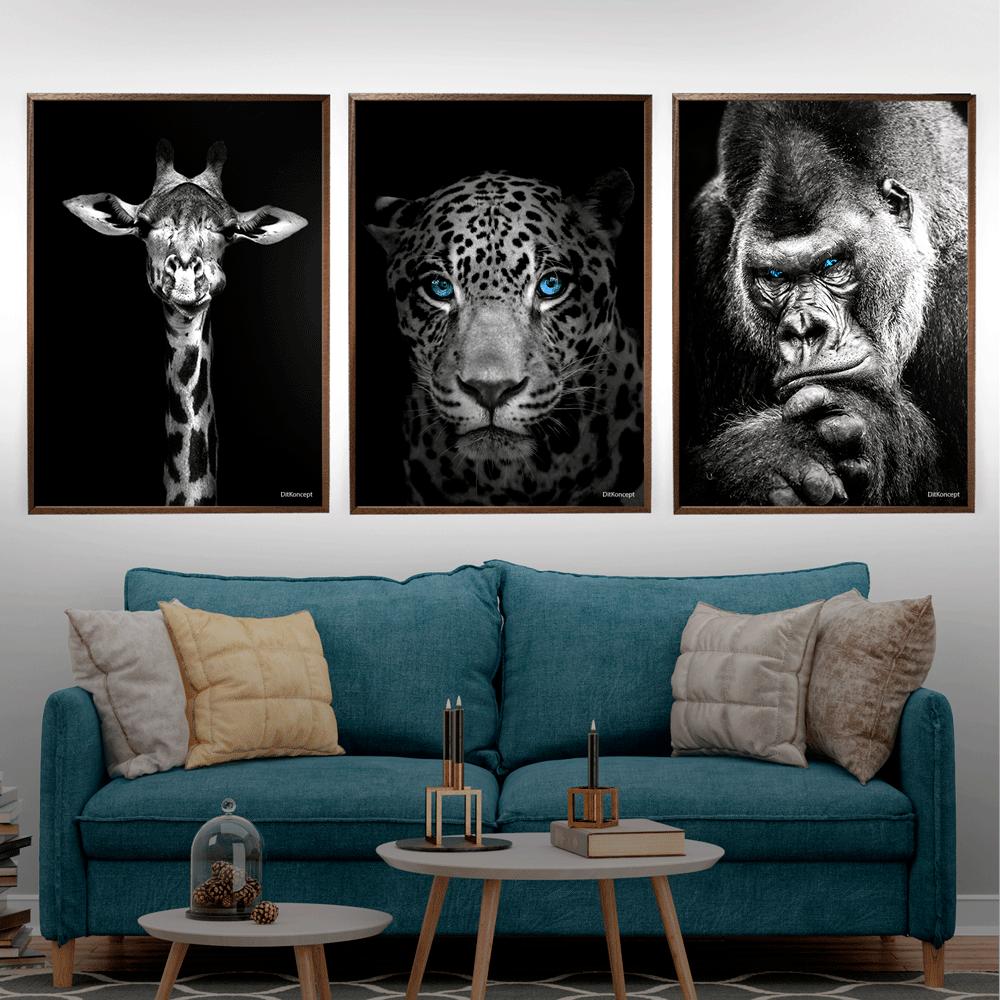 Giraf-Jaguar-Gorilla