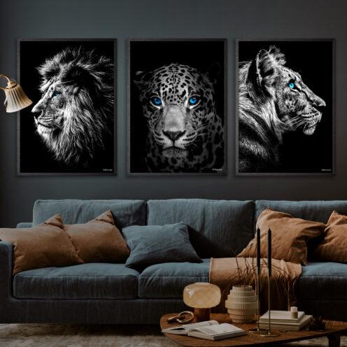 Løven-Jaguaren-Tigeren