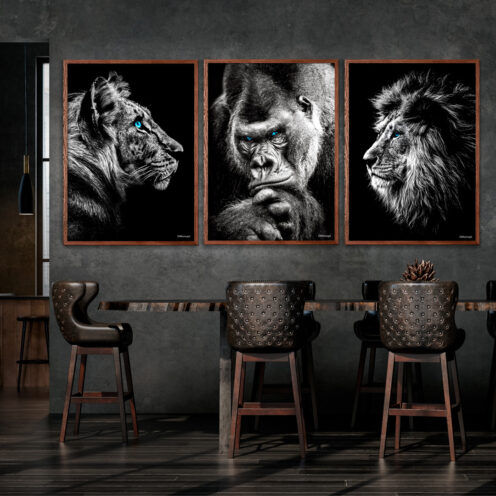 Tiger-Gorilla-Løve