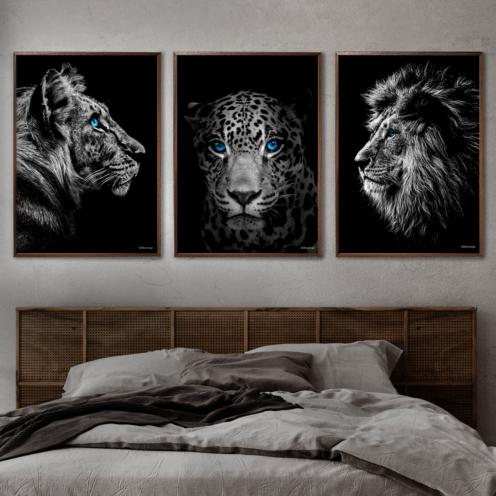 tiger-jagur-løve-soveværelse