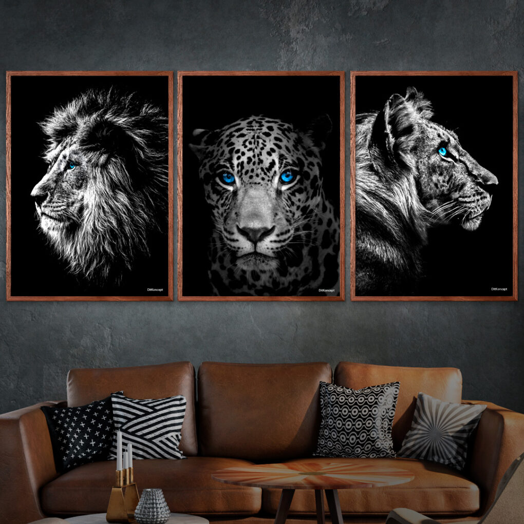 Løven-Jaguaren-&-Tigeren