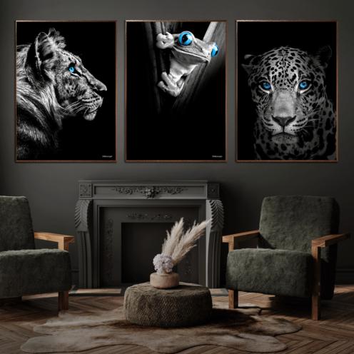 Tiger-Frø-Løve