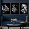 Tiger-Løve-Ugle-Plakater