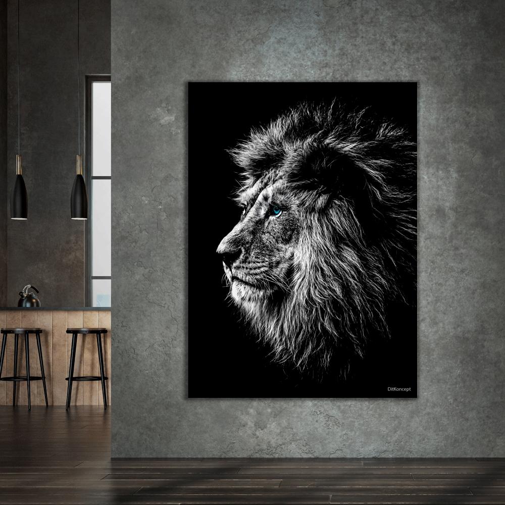 Løven-lærredsprint