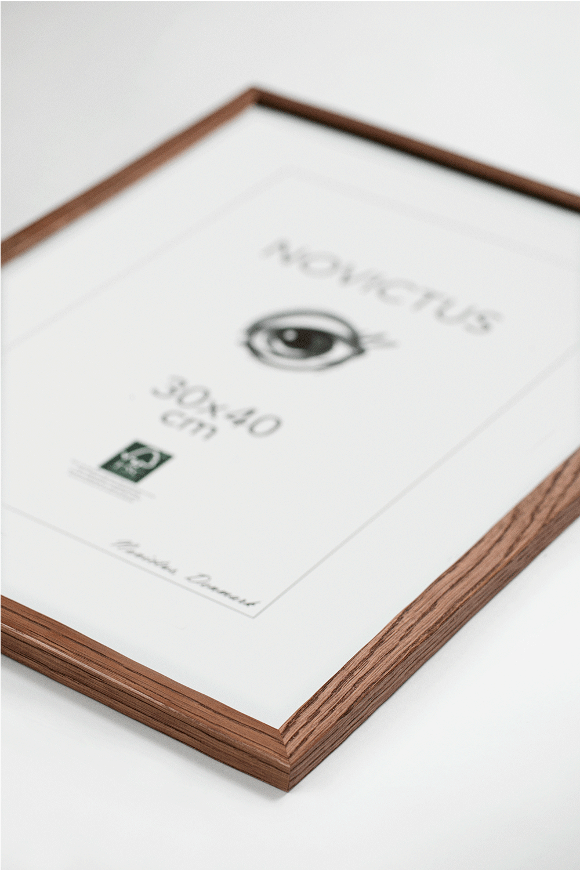 Plakatramme-brun-50x70cm
