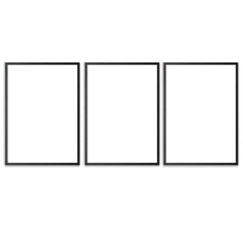 Plakatrammer-Sort-50x70