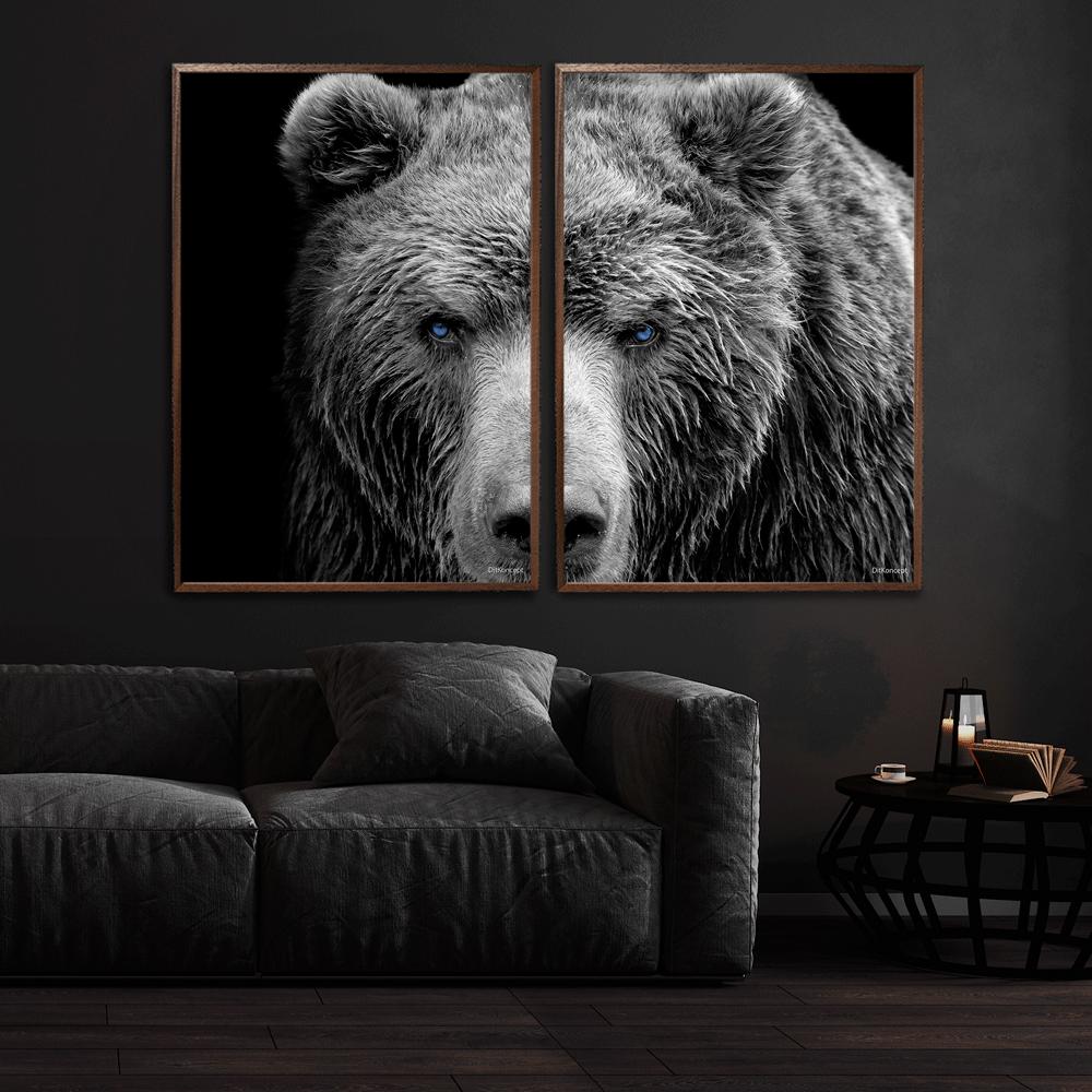 Bjørnen-70x100