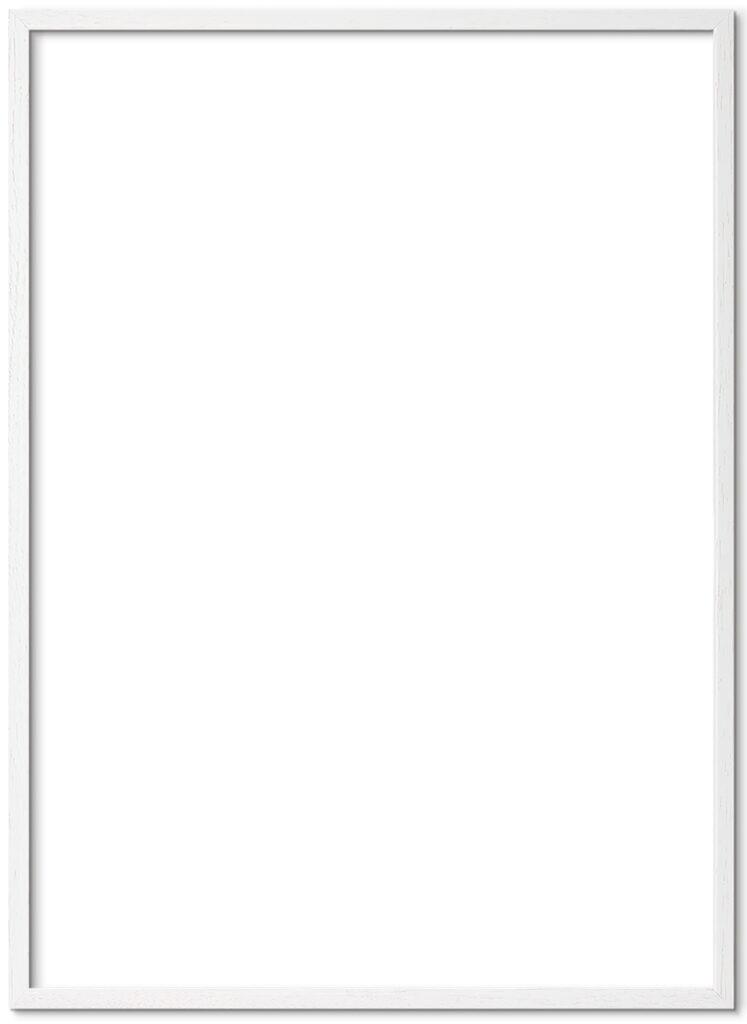 Hvid-Plakatramme-50x70