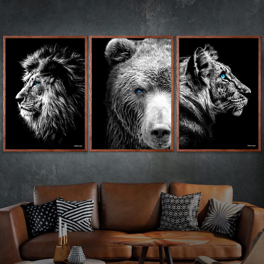 Løven-Bjørnen-Tigeren