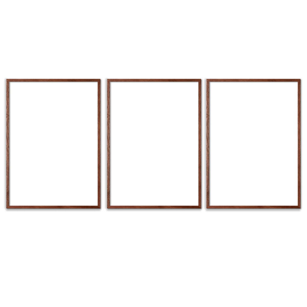 Plakatrammer-Brune-50x70