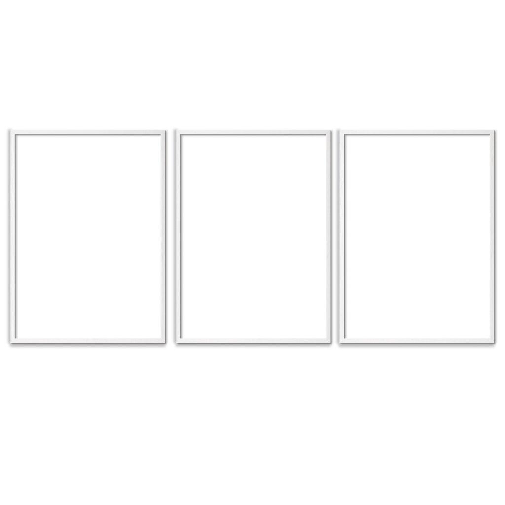 Plakatrammer-Hvide-50x70