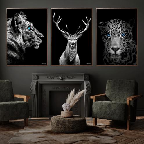 Tiger-Hjort-Jaguar-Plakat