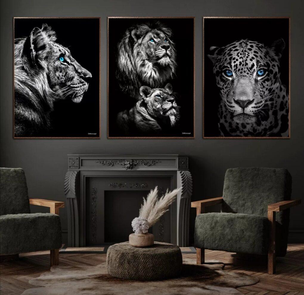 Tiger Power Couple Løve