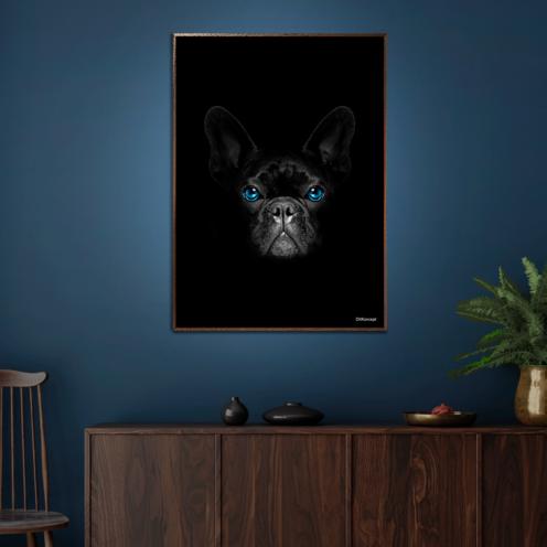 Bulldog-Plakat