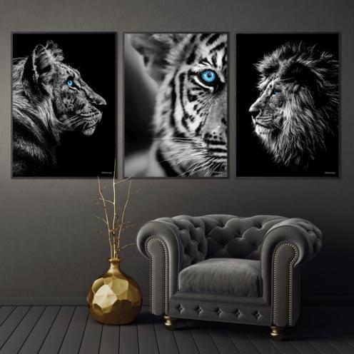 Tiger-Tigerbarn-Løven