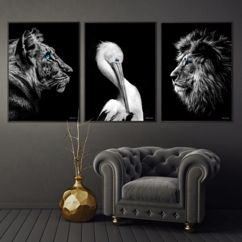 Tigeren-Pelikanen-Løven