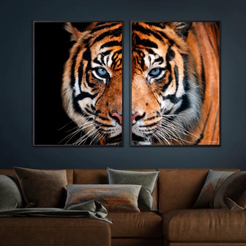 Tiger-Sorte-Plakatrammer